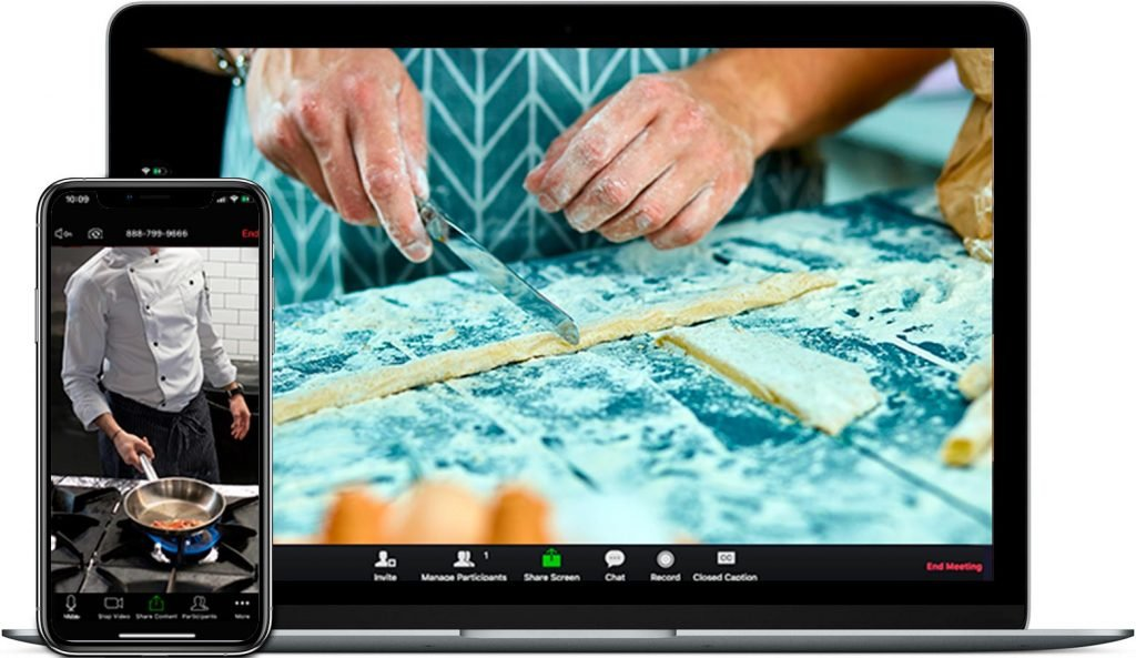 cooking experience online