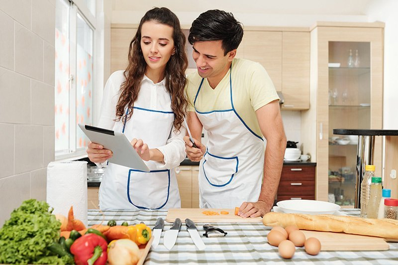 Cooking experience con una Online cooking class
